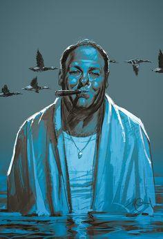 Tony-James Gandolfini.