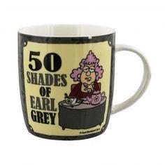 Aunty Acid 50 Shades of Earl Grey Mug - Fun gift for Friends Birthday Gift idea