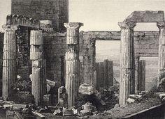 ΑΝΑΤΟΛΙΚΑ  ΠΡΟΠΥΛΑΙΑ  -  ΟΚΤΩΒΡΗΣ  1839  (Pierre - Gustave  Joly  de  Lotbiniere )