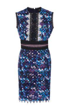 Trudi Sleeveless Mini Dress by SALONI Now Available on Moda Operandi