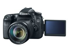 Canon EOS 70D Digital SLR: camera for those who need an SLR that's PDQ.