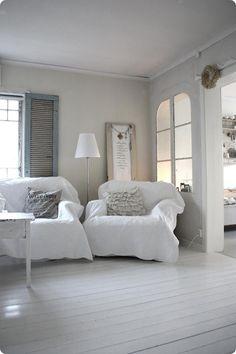 Comfy white