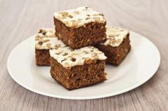 One-Layer Carrot Cake with Frosting - Recipe
