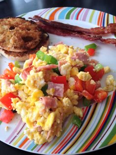 Recipe: Western Omelette egg scramble (From Mostly Chic and a Little Geek)