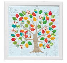 tree applique quilt Don't Look Now! — Memories