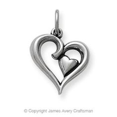 Joy of My Heart Charm from James Avery - Mark and me on my charm bracelet