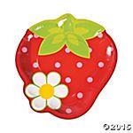 Berry 1st Birthday Dinner Plates