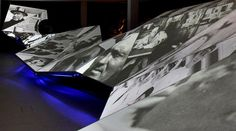 The Wave showing images from the Museum's collection. by Eye magazine, via Flickr