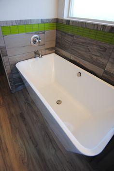 Bathroom Fixtures Ventura ventura homes shower tile: black subway tile / hexagon tile / hex