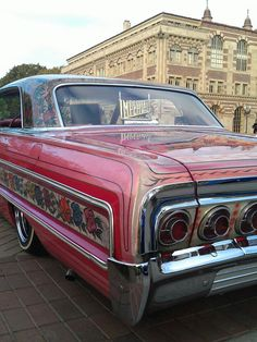 low Custom Paint Jobs, Custom Cars, American Classic Cars, Gypsy Rose, Old School Cars, Chevrolet Impala, Old Cars, Dream Cars, Low Life
