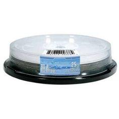 OPTICAL QUANTUM OQBDR06LDWIP-10 25GB 6XBD-R LIQUID DEFENSE WHITE INKJET HUB PRINTABLE 10PK by Optical Quantum. $17.34
