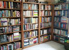 And the bigger, the better. | 24 Bookshelves That Will Mildly Arouse Any Book Lover