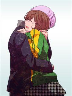 Yu Narukami and Chie Satonaka