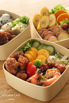 Japanese bento for a family for a school sports festival.