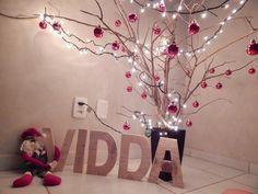 Vanessa Amarante: DIY - arvore de natal com galhos secos