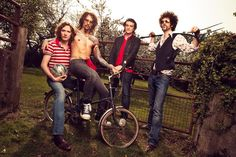 The Darkness photoshoot by Tom Barnes