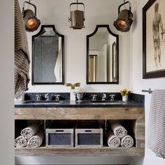 12 Beautiful Bathrooms {Inspiration}