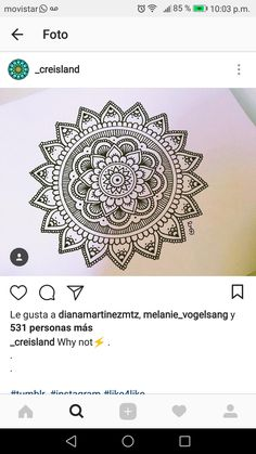 Henna Drawings, Zentangle Drawings, Zentangles, Mandala Art Lesson, Mandala Artwork, Doodle Art Drawing, Mandala Drawing, Doodle Pages, Peacock Art
