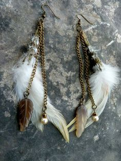 feather earings   feather earrings