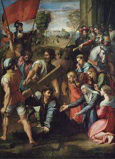 Image from http://sandradi.files.wordpress.com/2014/03/christ_falling_on_the_way_to_calvary_-_raphael-1.jpg?w=450.