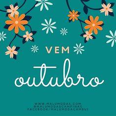 Chega outubro! Traga calma amor inspiração e moda para todos. E junto vem o dia das crianças dias das alegrias dias de sorrir e dias cheios de leveza.  www.malumodas.com http://ift.tt/29Ss7Qh #moda #campinas #grife #modabrasileira