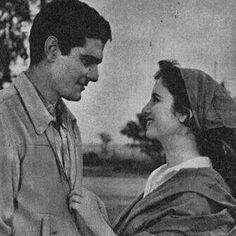 Faten Hamama and Omar el Sherif