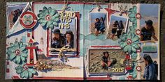 Magasin de scrapbooking à Alfred, Ontario - Scrapbooking store in Alfred, Ontario Page Layout, Page Design, Montage, Scrapbooking Layouts, Road Trip, Inspiration, Creative, Crafts, Painting