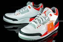 Air Jordan III (3) Retro 2013 Fire Red (136064 120) Size 7.5, 8.0 http://www.soleawesome.com
