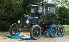 Ford on snowshoes – the Model T Snowmobile
