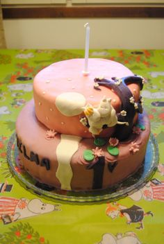 Moomin cake Moomin Books, Main Image, Sugar Craft, Novelty Cakes, Love Cake, Beautiful Cakes, Sweet Treats, Bakery, Cheesecake