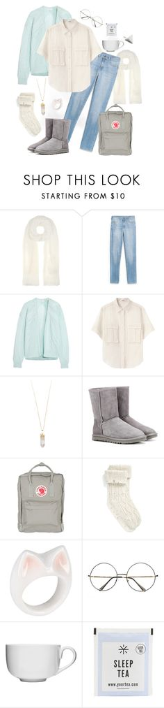 """Comfortable Evening"" by tuutikki1 ❤ liked on Polyvore featuring Calvin Klein Collection, MANGO, Vionnet, Acne Studios, Rebecca Taylor, UGG, Fjällräven, Nach and Sagaform"