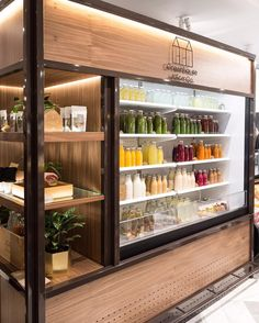 Related images of interior design ideas for juice shop.