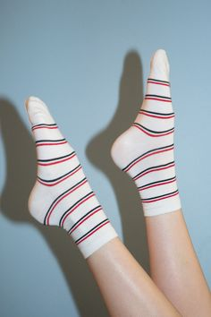 880f1fe57 Red White and Blue Stripe Socks - Socks - Accessories