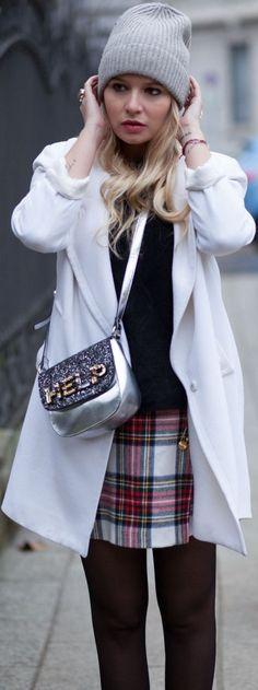 #Tartan #Skirt