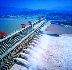 The Three Gorges Dam is located in China. Build a couple of these on the Mississippi River and you really could do away with coal.