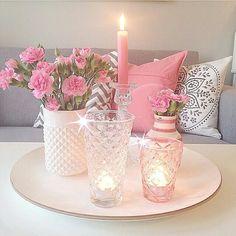 Love pink&white so much
