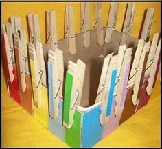 Color matching and fine motor development