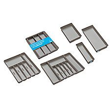 image of Madesmart Drawer Organizers in Grey