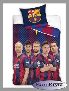 Dla wiernych fanów FC Barcelony kolejna nowość w naszym sklepie - pościel FC Barcelona Team