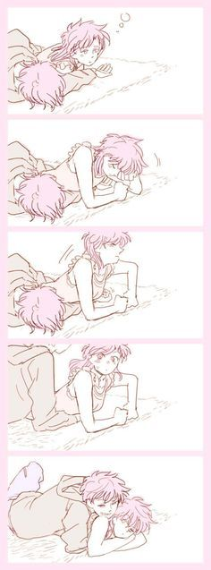 Kaito & Aoko~ I just had to repin it, it's too cute