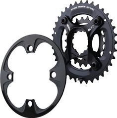 Bike Chainrings - SRAM X0 GXP Spider and 10sp 2236Guard ** Click image for more details.