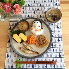 Okame natto breakfast
