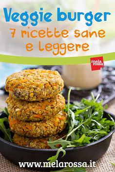 Veggie burger: 7 ricette leggere e sane - vegetarian - Quinoa Recipes Veg Recipes, Vegetarian Recipes, Cooking Recipes, Light Recipes, B Food, Good Food, Healthy Recepies, Vegan Burgers, Food Inspiration