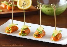 New Zealand Week Culinary Demo and Smoked Salmon Bites