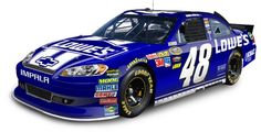 JJ's dark blue #48 goin' to Daytona!
