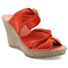 Andr233 Assous Coral Sun Espadrille Sandal - Women's ($61) ❤ liked on Polyvore featuring shoes, sandals, coral, evening sandals, special occasion shoes, andre assous sandals, evening shoes and espadrilles shoes