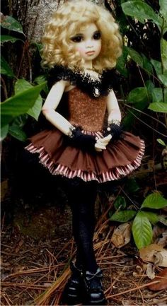 cute steampunk doll outfit