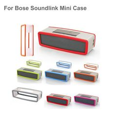 Factory Outlet Fashion Soft Silicone Case Cover For Bose SoundLink Mini 1/2 Bluetooth Speaker 7 Colors Price: USD 4.08 | United States