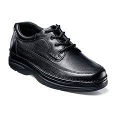 shoes, mens dress shoes, business shoes, boots, footwear, sandals, slippers, belts, socks, accessories, shoe care, Moc toe oxford, Tumbled leather upper, Breathable fabric linings, Comfort gel: Anatomically designed gel pad designed to absorb the impact of each step and provide cushioning for all day comfort, Lightweight rubber sole