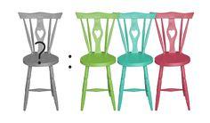For sale: cadeiras rabo de bacalhau